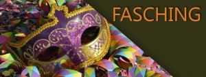 Fasching Banner-Button